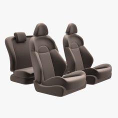 Nissan Juke Chairs 3D Model