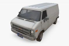 GMC Vandura Van 3D Model