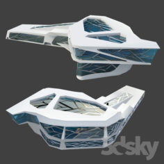 Zaha Hadid Building                                      Free 3D Model
