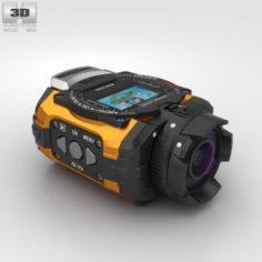 Ricoh WG-M1 Orange 3D Model