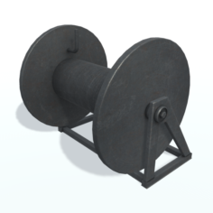 Hawser reel free Free 3D Model