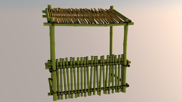 Bar 3D Model