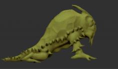 Crawl Creature 3D Model