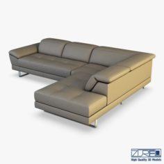 B796 sofa 3D Model