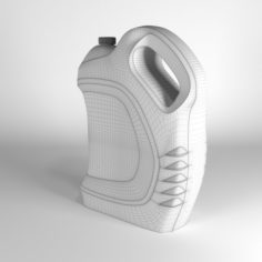 Canister of barrel 3D Model