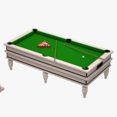 Billard Table 3D Model
