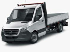 Mercedes Sprinter 2018 pickup 3D Model