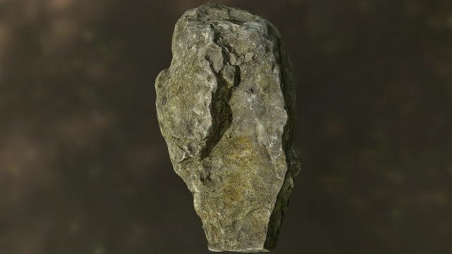 Rock low poly model 3D Model