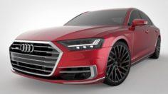 2018 Audi A8 D5 3D Model