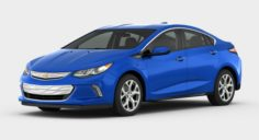 Chevrolet Volt 2017 detailed interior 3D Model