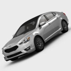 KIA Cadenza Limited 2014 3D Model