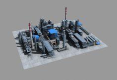 Complete Petrochemical field 3D Model