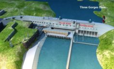 Three Gorges DamSan Xia Dam 3D Model