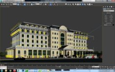 Bank Building Free 3D Model