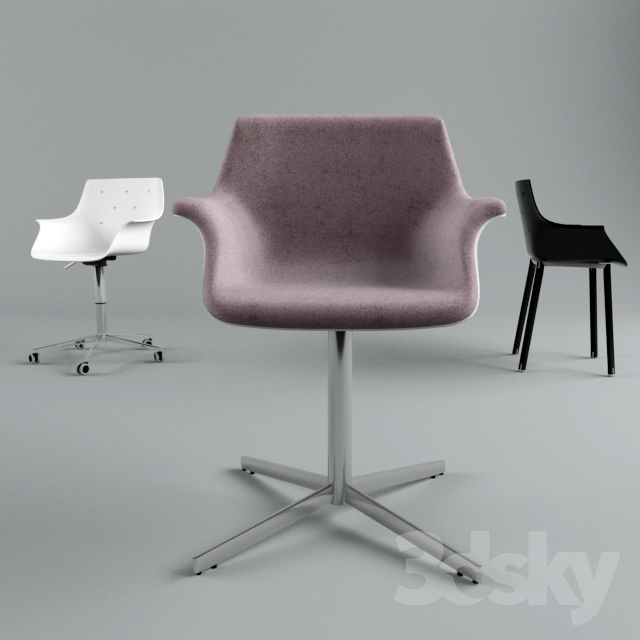 GABER MORE CHAIRS                                      Free 3D Model