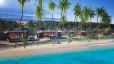 Buildings of Resort 3D Model