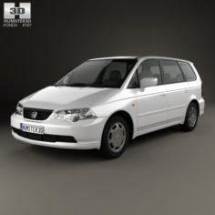 Honda Odyssey JP 1999 3D Model