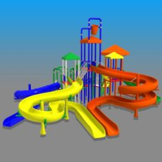 Big Toys Playground 3D Model