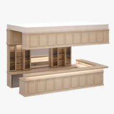Bar Set 04 3D Model