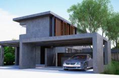 House No05 3D Model