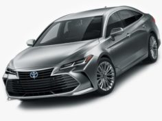 Toyota Avalon Hybrid 2019 3D Model