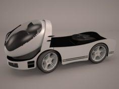 Concept Truck 3D Model