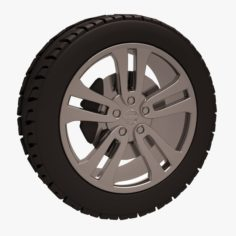 Nissan Juke Wheel 3D Model