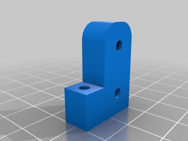 TRX4 BODY MOUNT FOR JEEP RUBICON 3D Print Model