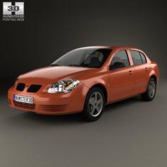 Pontiac G5 2006 3D Model