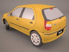 Fiat Palio Fire Economy 3D Model