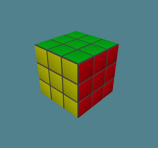 Rubiks Cube 3×3 Free 3D Model