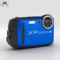 Fujifilm FinePix XP90 Blue 3D Model