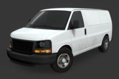 GMC Savana Van 3D Model