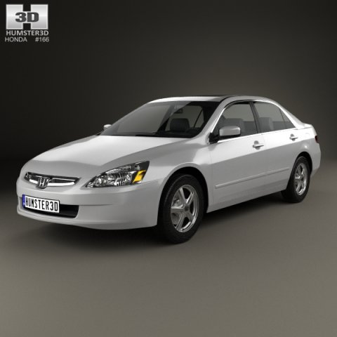 Honda Accord 2004 3D Model