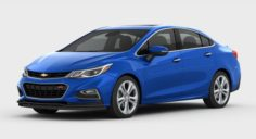 Chevrolet Cruze 2016 detailed interior 3D Model