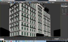 Classic Apartment building Free 3D Model