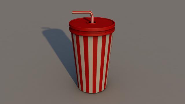 Large Cup 3D Model