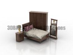 Stanley Furniture Louis Louis Bedroom 3D Collection