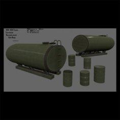 Barrel set 3D Model