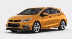 Chevrolet Cruze Hatchback 2017 detailed interior 3D Model