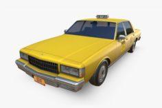 Chevrolet Caprice New York Taxi 3D Model