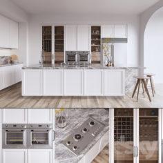 Kitchen L'ORIGINE Aeterna (vray GGX, corona PBR)                                      3D Model