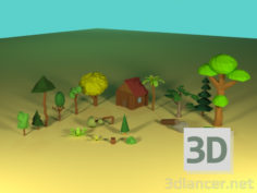 3D-Model  FOREST