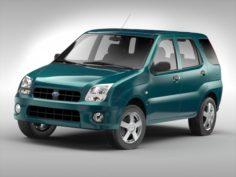 Subaru G3X Justy 2004 – 2007 3D Model