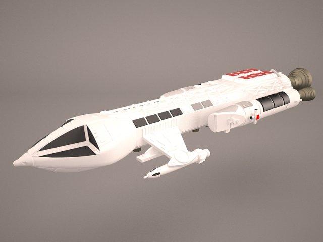 MK9 HAWKER 3D Model