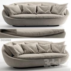 Sofa Desiree 2014 LACOON 002040 1                                      3D Model
