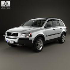 Volvo XC90 2002 3D Model