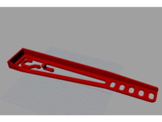 Heat Beat Cable Support (Crane Type) 3D Print Model