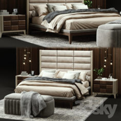 Dall'Agnese DAMA Bed                                      3D Model