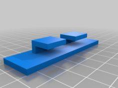 PiGlass softpot clip 3D Print Model